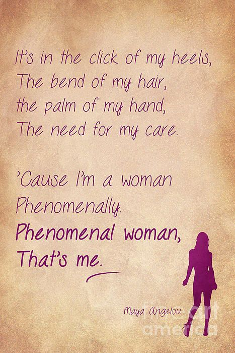 Phenomenal Woman Quotes 4 Woman Quotes Phenomenal Woman