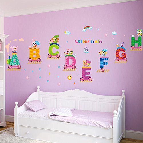 MrS Shop Wall Sticker Fashion Removable 3d Children Bedroom ...