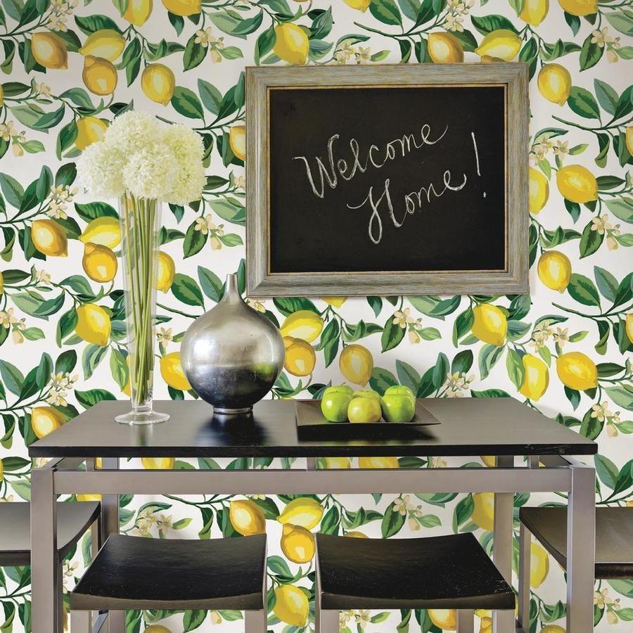 Lemon Zest Peel And Stick Wallpaper Peel And Stick Wallpaper Room Visualizer Wallpaper Roll