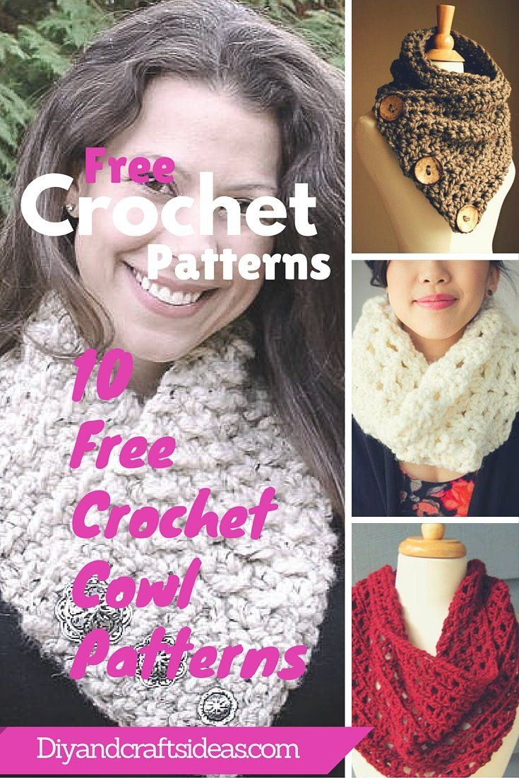 10 Unique and Free Crochet Cowl Patterns   DIY and Crafts   My Style ...