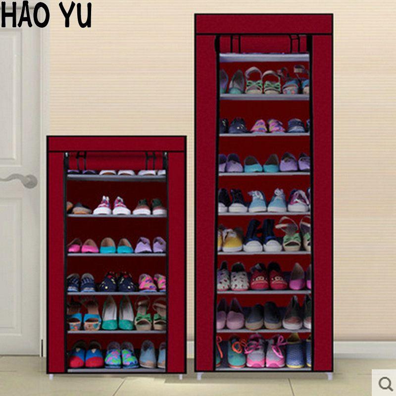 Armoire à chaussures Chaussures Rack Empêcher La Poussière Et L - meuble a chaussures grande capacite
