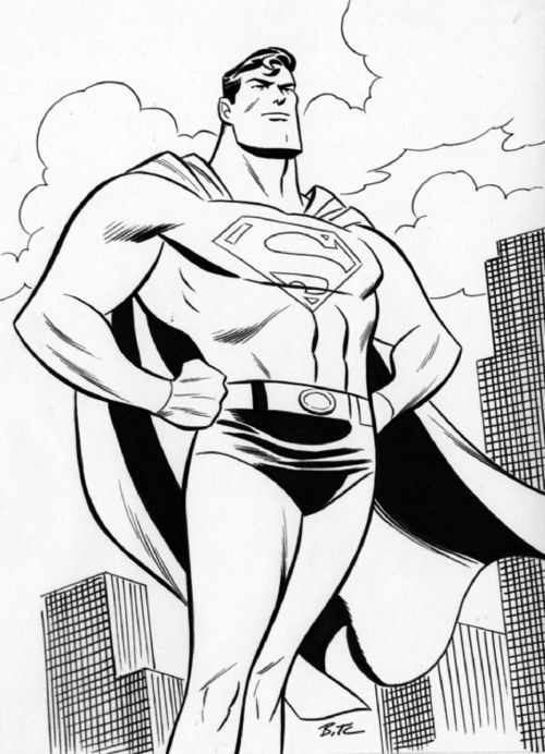 Superman By Bruce Timm Bruce Timm