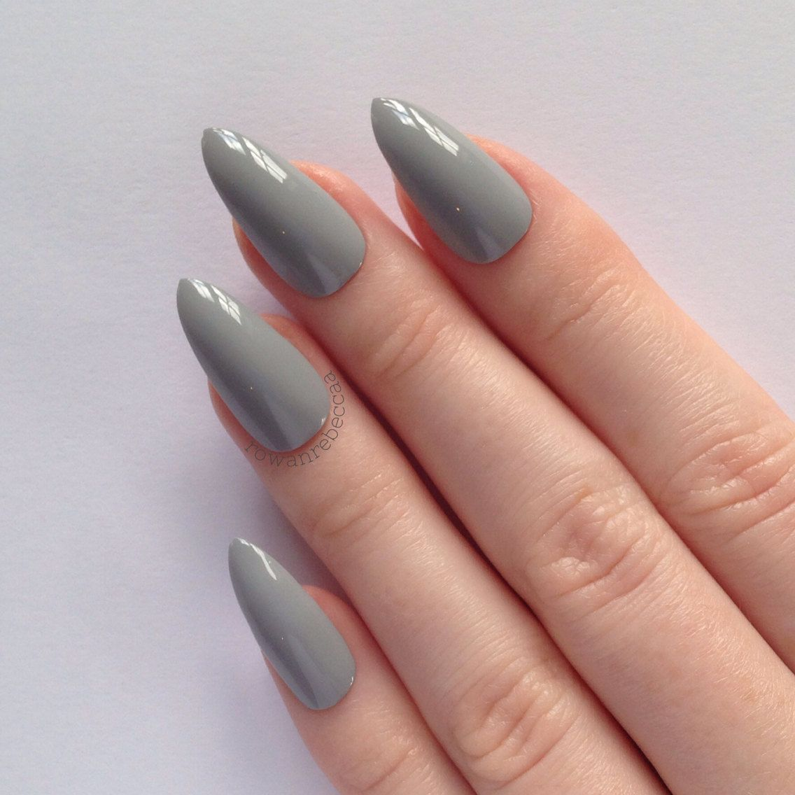 Christmas Acrylic Nails Grey: Pink And Grey Nail Designs - Google Search