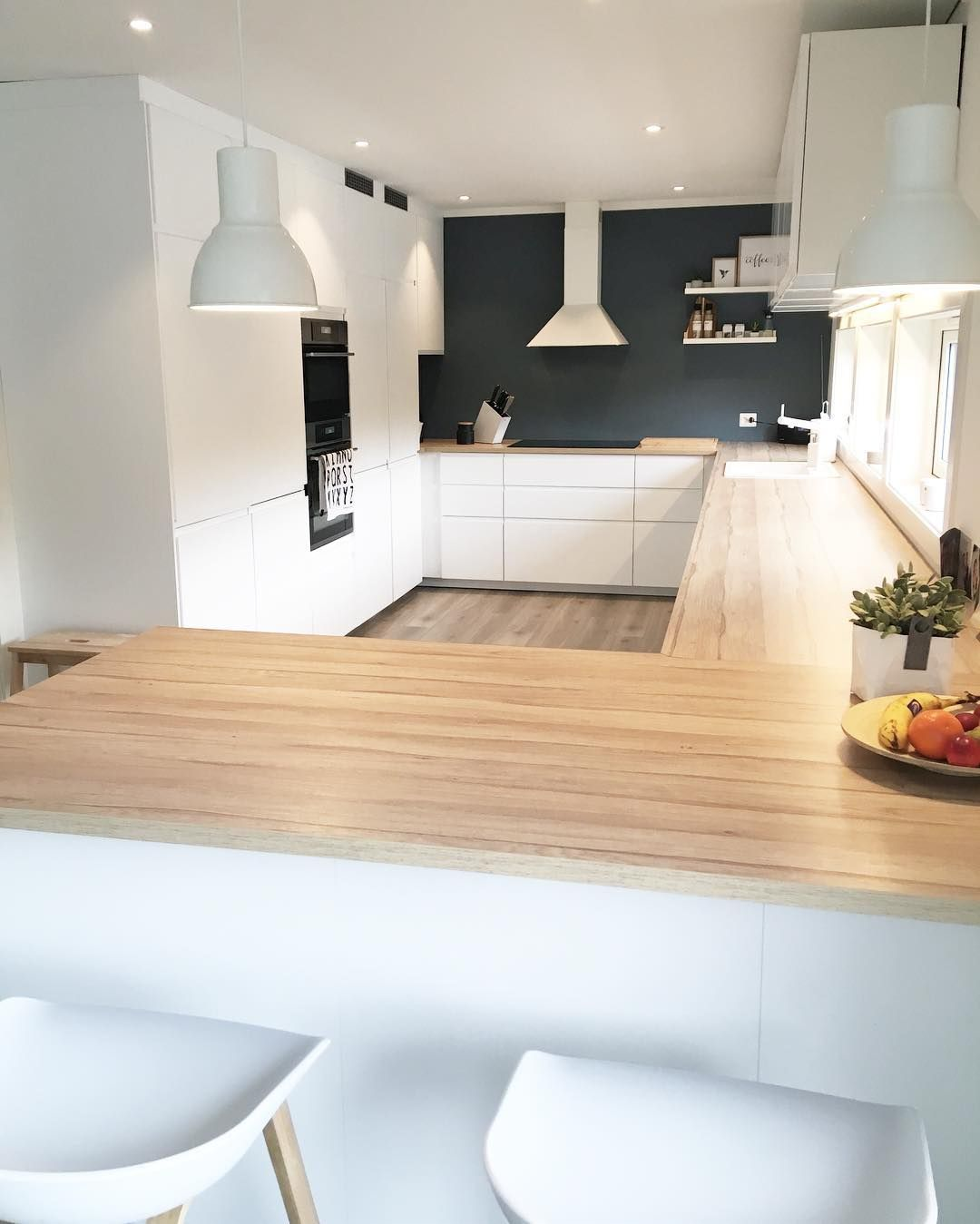 Susannegaupeland on instagram kj kken voxtorp for Ikea cucina bianca