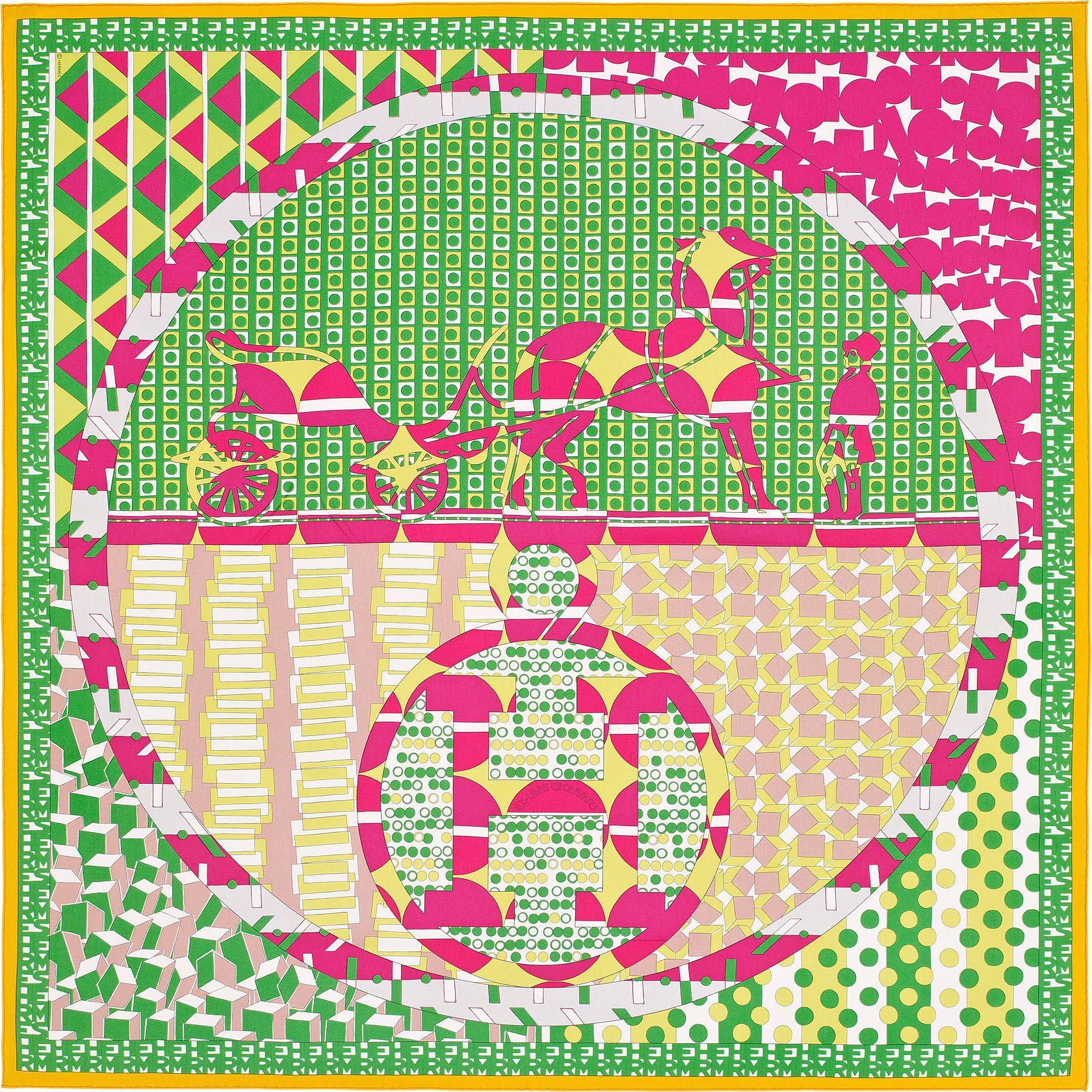6d2c2056d9ec Carré 90 x 90 cm Hermès   Ex-Libris en Cravates   Scarf   Pinterest ...