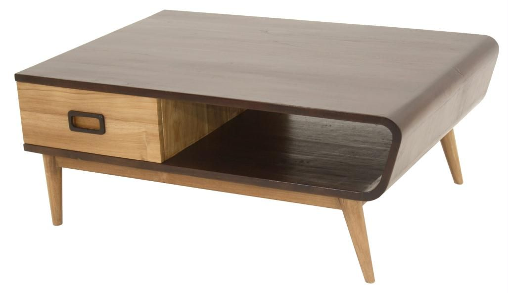 LA MAISON & CO Table basse - BIBOP (avec images) | Table basse, Tables basses faites maison ...