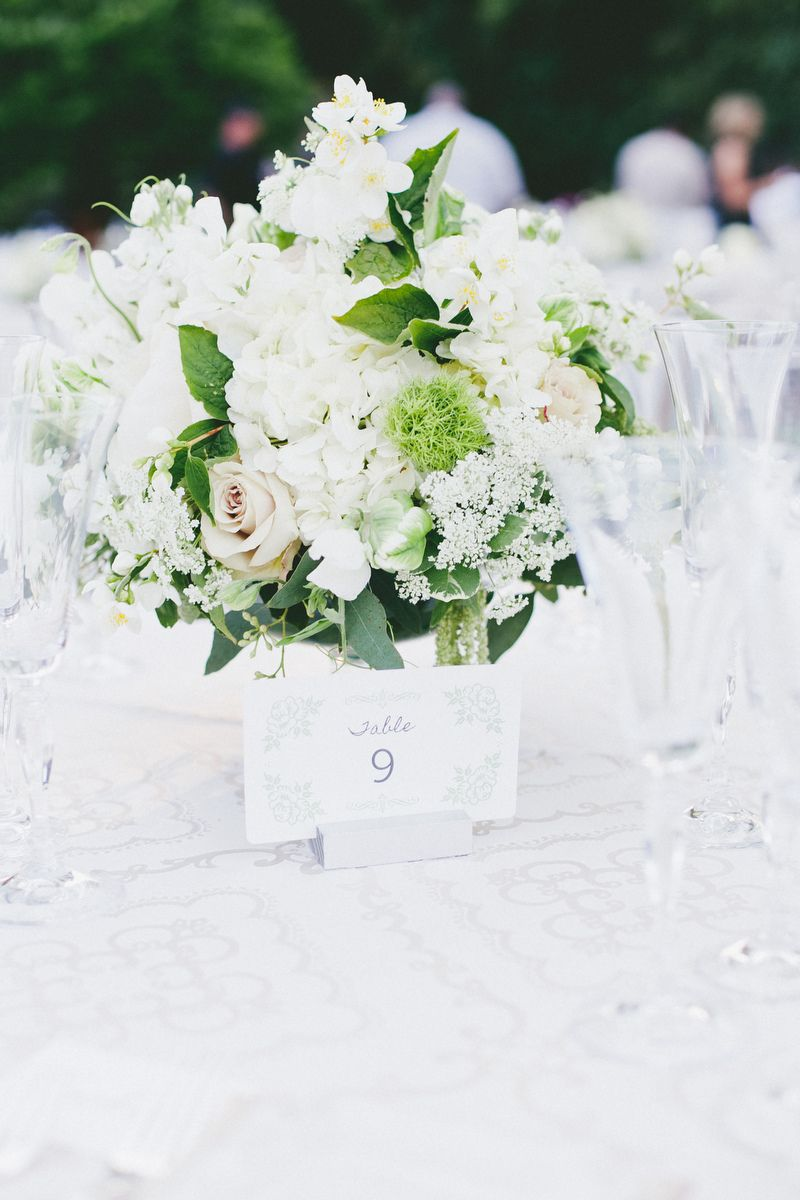white and completely striking! perfect for any centerpiece   http ...