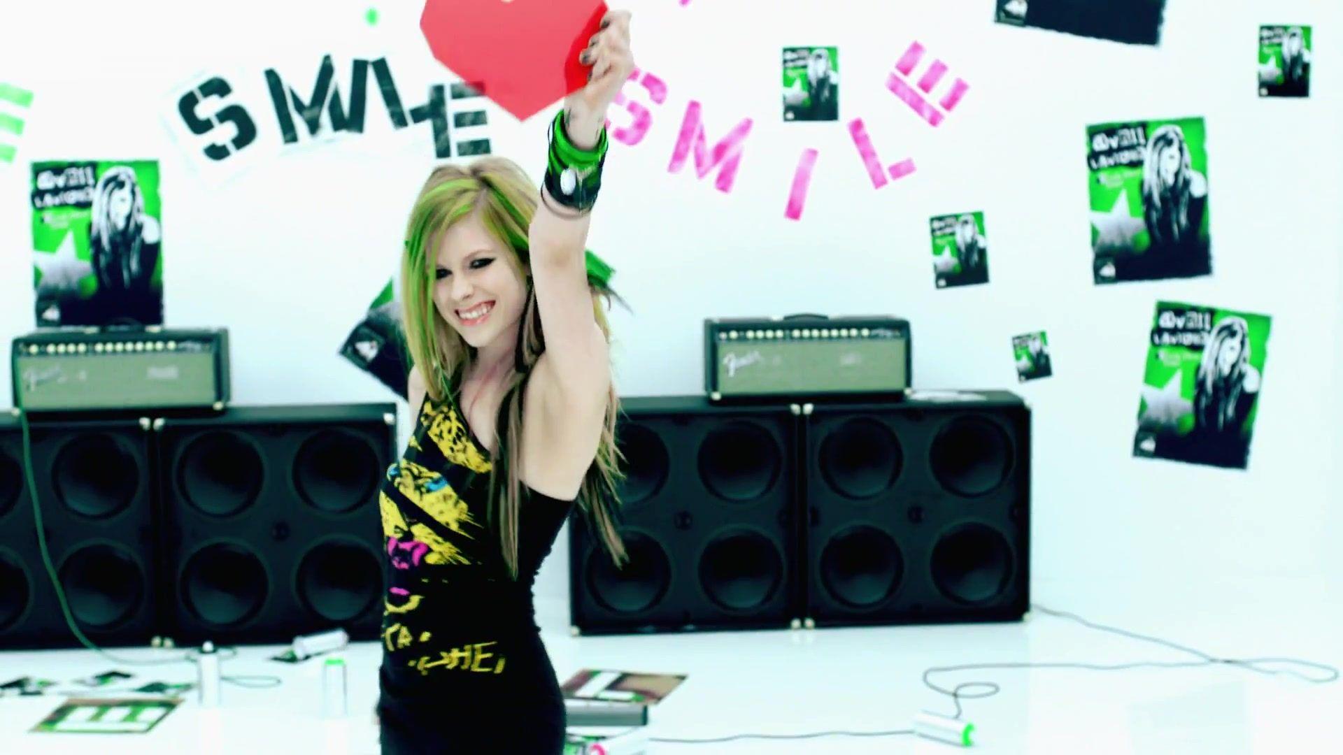 smile music video