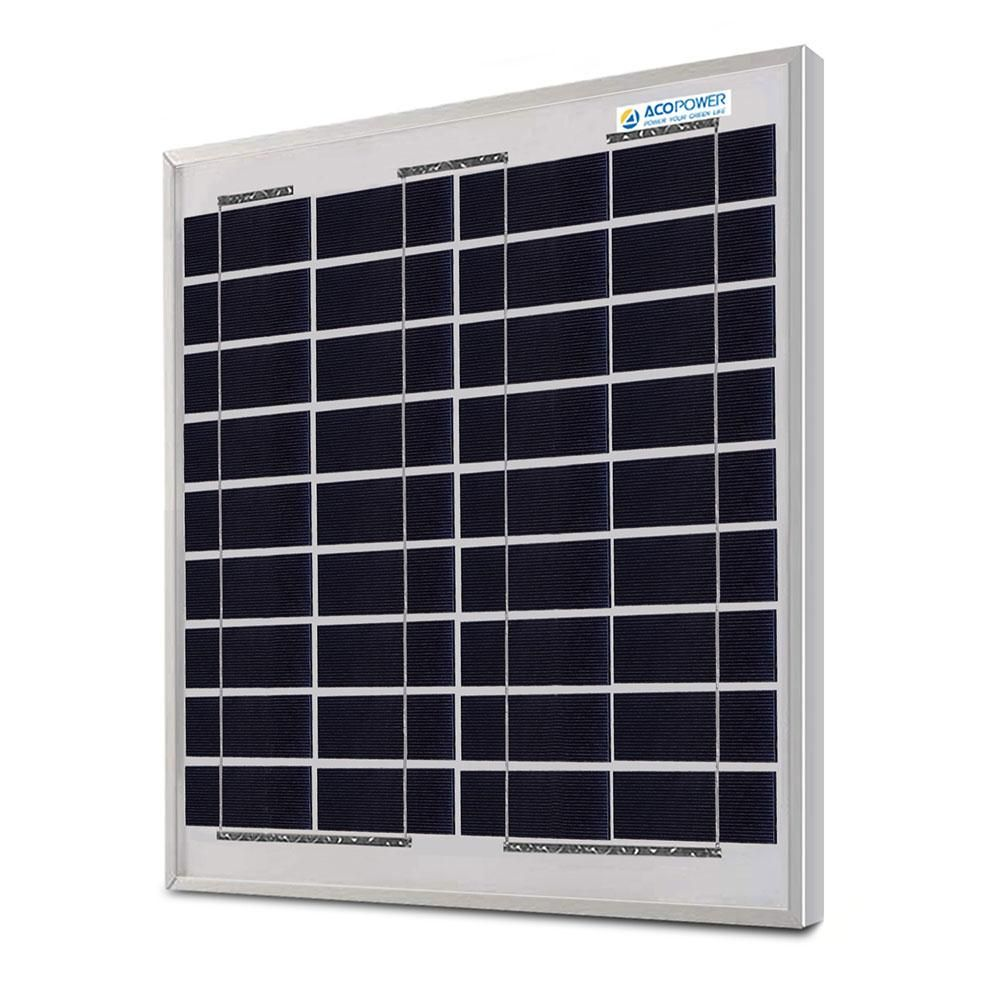 Acopower 15 Watts Poly Solar Panel 12v In 2020 Off Grid Solar Panels Solar Panels Off Grid System