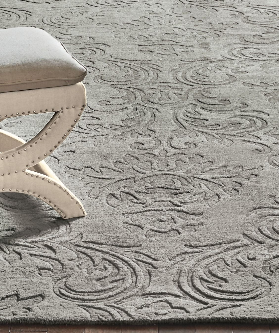 Varied Pile Heights Of Our Tilli Area Rug Give It Depth