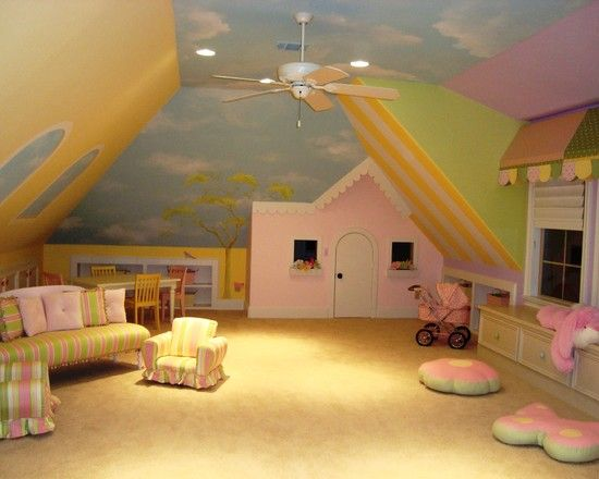 Kids Playroom Design    Kendall's play room