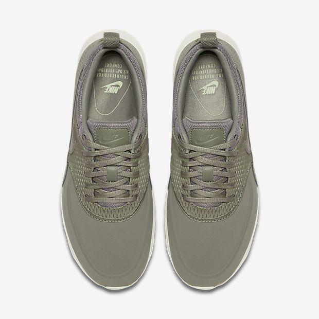 Nike Air Max Thea Premium Leather Women's Shoe Shoes Pinterest
