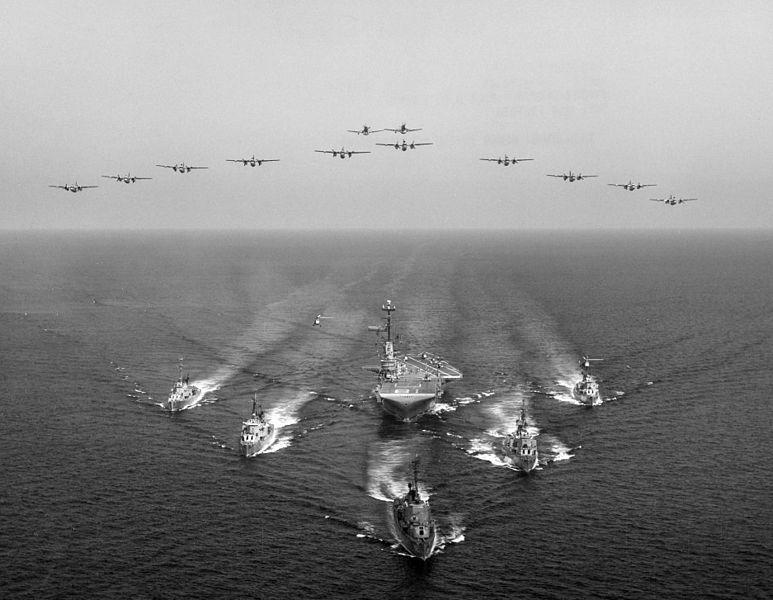 File:USS Wasp (CVS-18) with Anti-submarine TG Bravo 1961.jpg