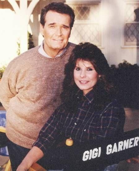 Actor James Garner and his daughter Gigi.