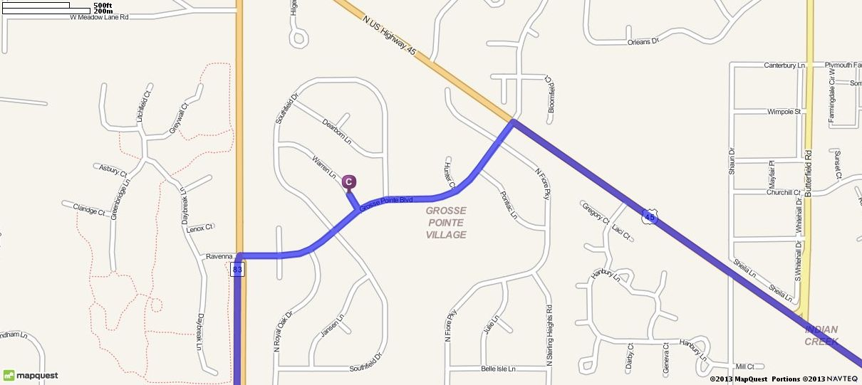 Driving Directions from College of Lake County - Southlake Campus in ...