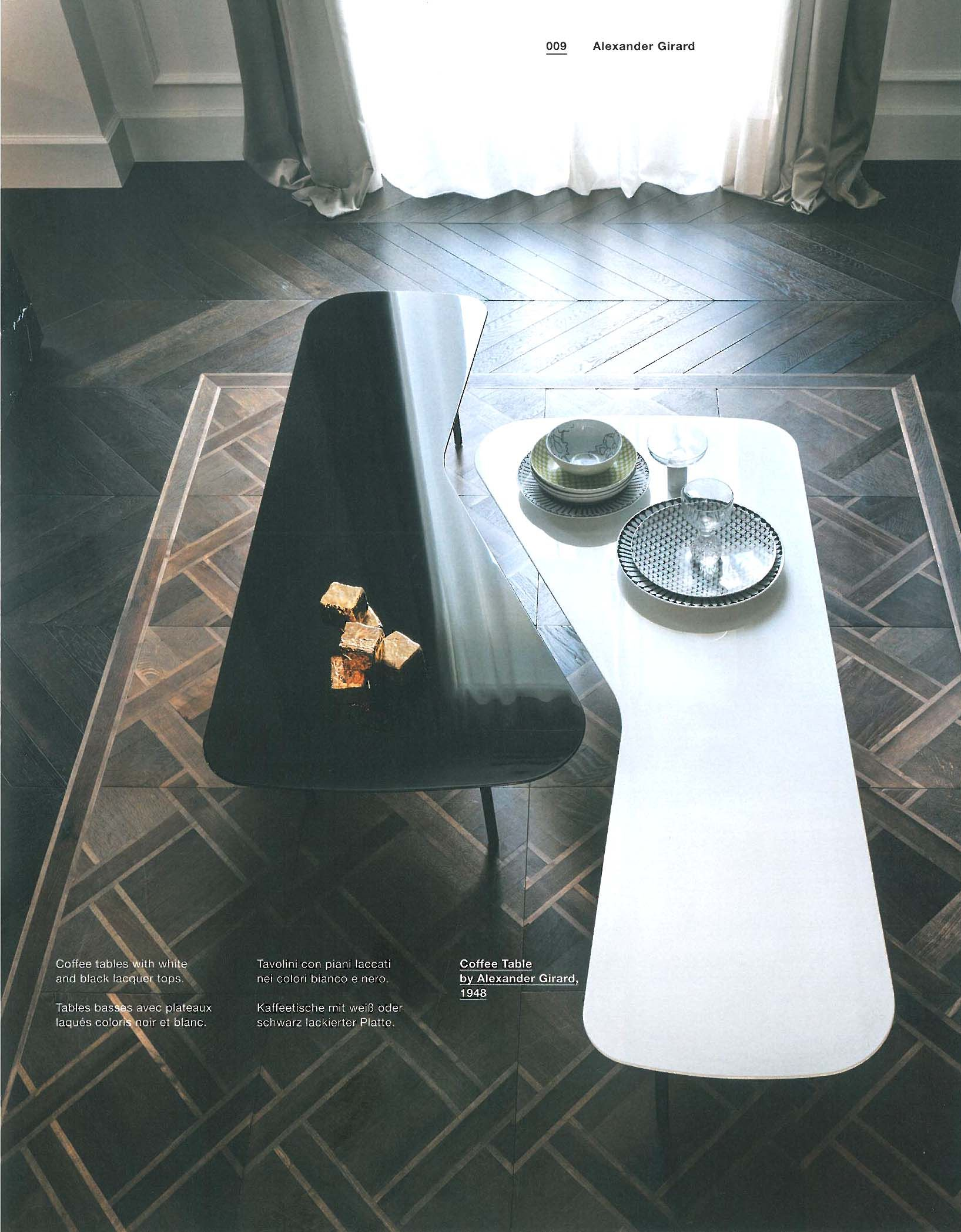 Coffee table by alexander girard knoll table for Novelli arredamenti