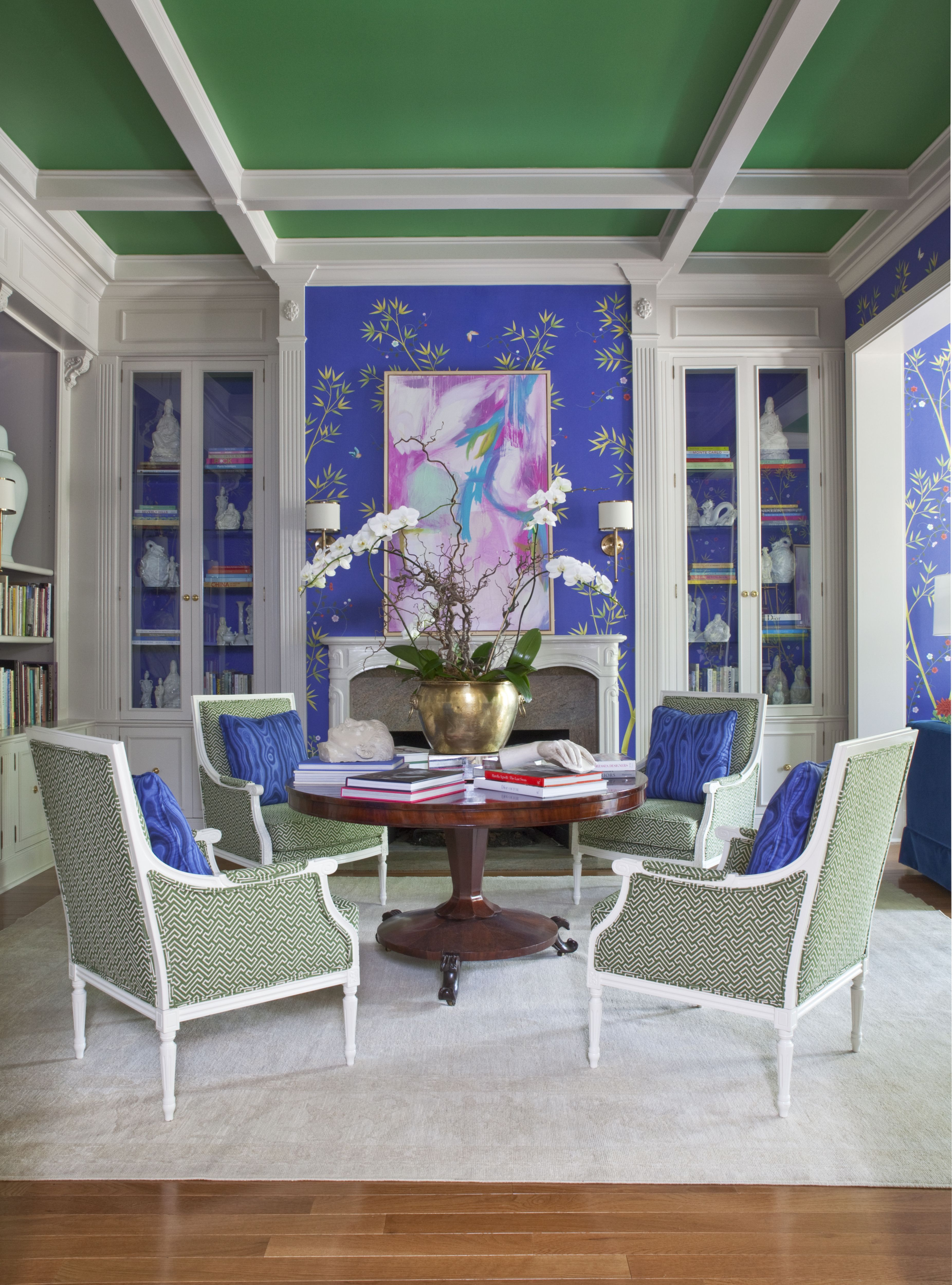 Parker Kennedy\'s Gentleman\'s Study at the 2015 Decorators Show House ...