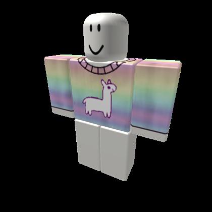 [UN] Llama Rainbow Shirt - ROBLOX