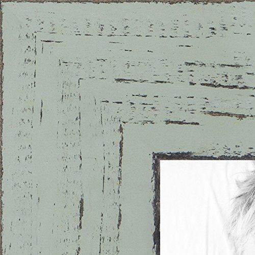 Arttoframes 20x34 Inch Weathered Barnwood In Saturated Sage Wood