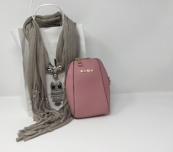8ac6a068512a Used women's gray leather sling bag for sale in Norwalk - letgo | My ...