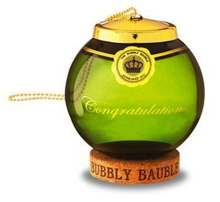 Cork Wedding Memory: The Bubbly Bauble Cork Keepsake
