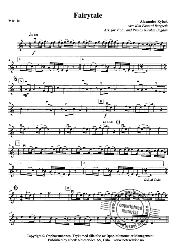 Image 33 Violon Sheet Music Violin Sheet Violin