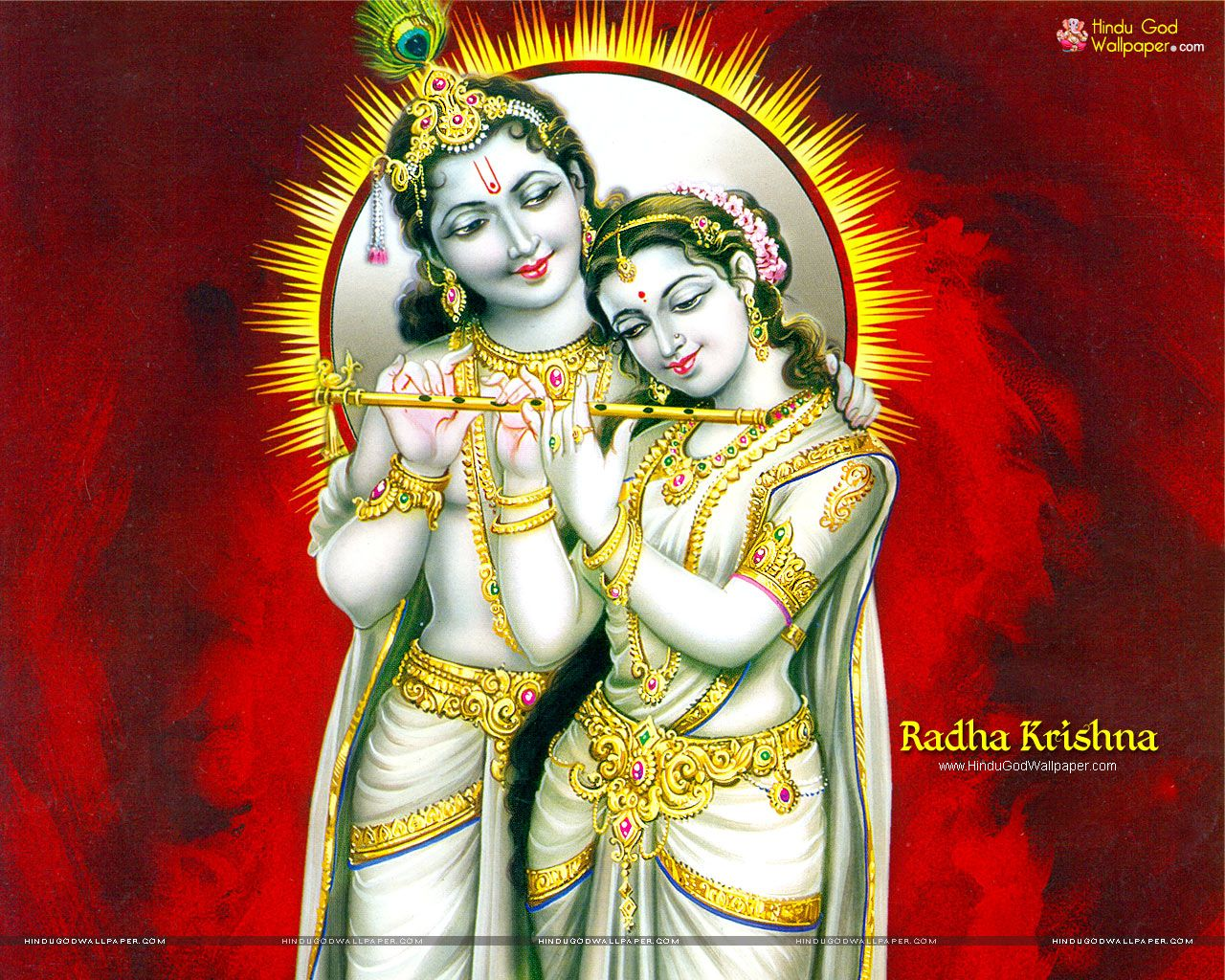 Hd wallpaper krishna and radha - Radha Krishna Hd Wallpapers Full Size Download