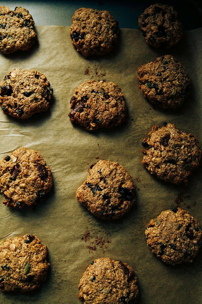 Ultimate Breakfast Cookies Vegan Gluten Free Sugar Free Recipe Breakfast Cookies Breakfast Cookie Recipe Baking