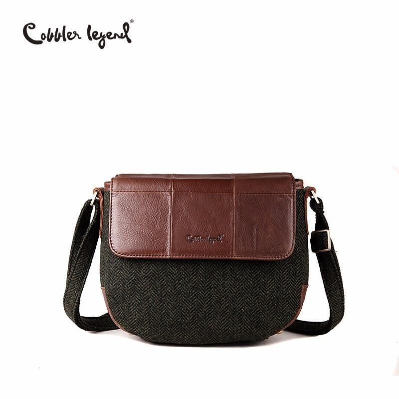 Cobbler Legend Women s Genuine Leather Shoulder Bag 0900503-1 ... cd4e07585c