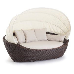 Domus Ventures Paradise Wicker Patio Daybed
