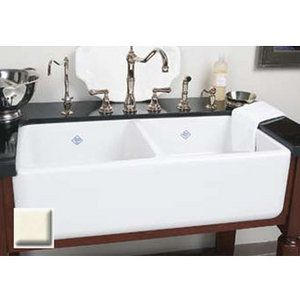 Double Bowl Sinks With Images Farmhouse Sink Kitchen Trendy