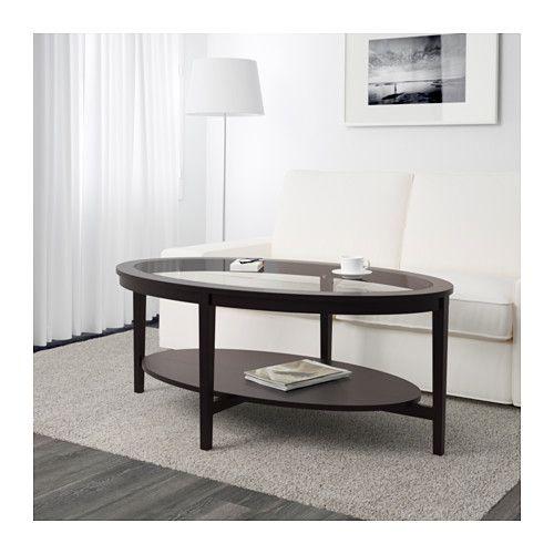 High Quality MALMSTA Coffee Table, Black Brown 51 1/8x31 1/2