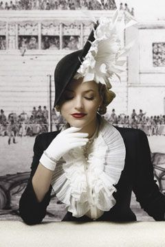 Free Vintage Hat Patterns Over the Top Toppers Fascinator's and Head Pieces
