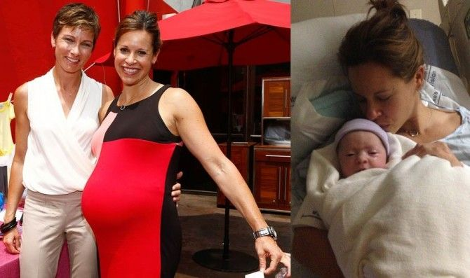Jenna Wolfe Baby Another Lesbian Family Has Become Stronger