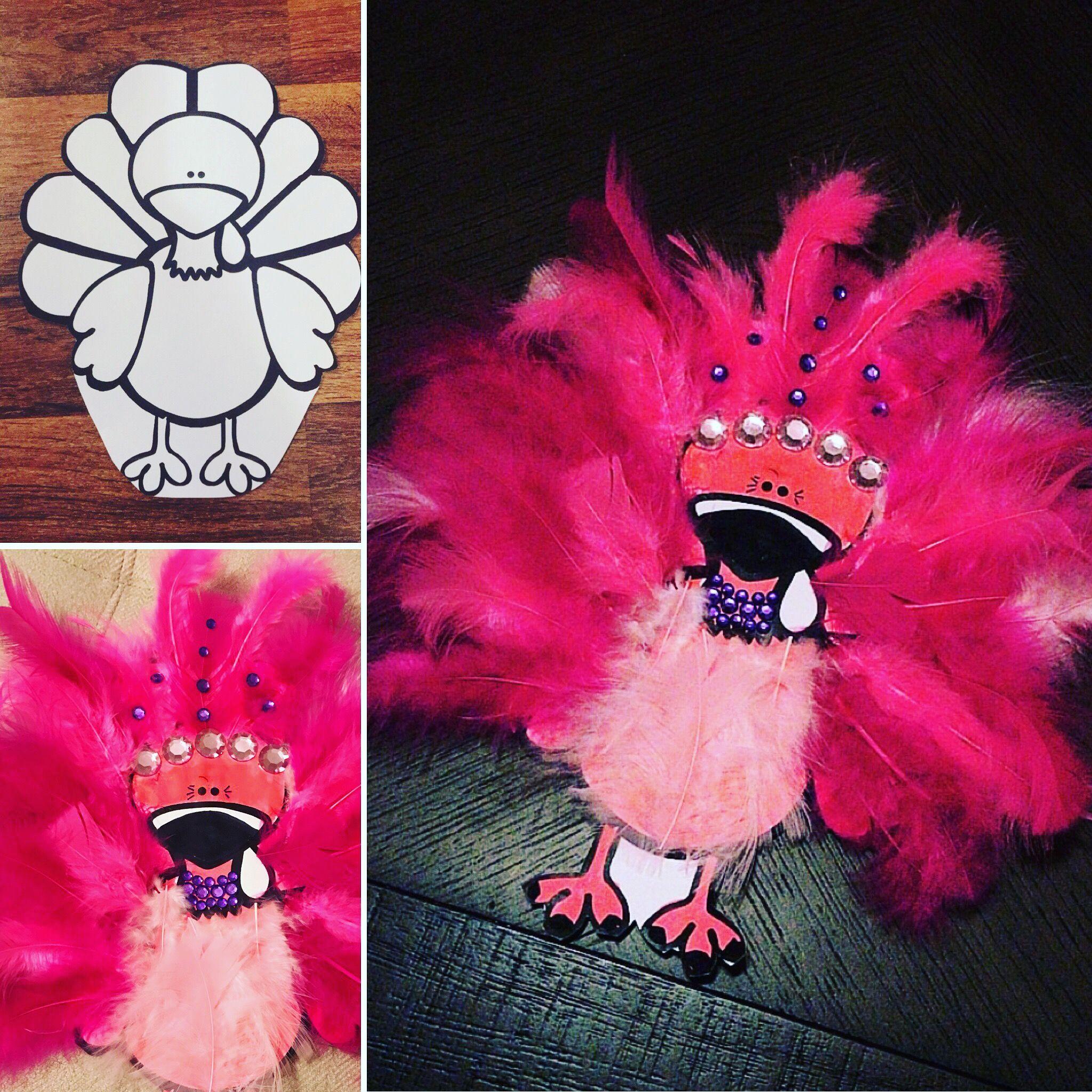 Flamingo Turkey in Disguise #disguiseaturkeyideas