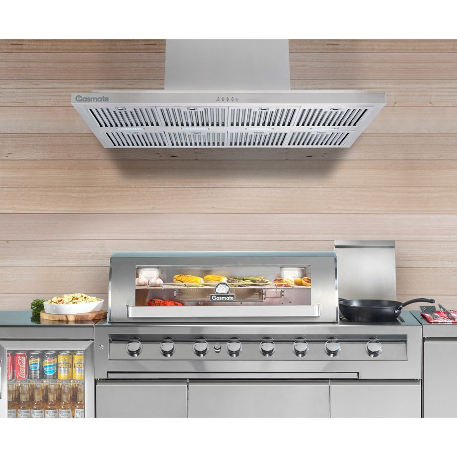 Gasmate Professional Range Hood Is The Perfect Products To Finish Off Your Outdoor Kitchen Area Range Hood Made From High Qua Built In Bbq Outdoor Kitchen Bbq