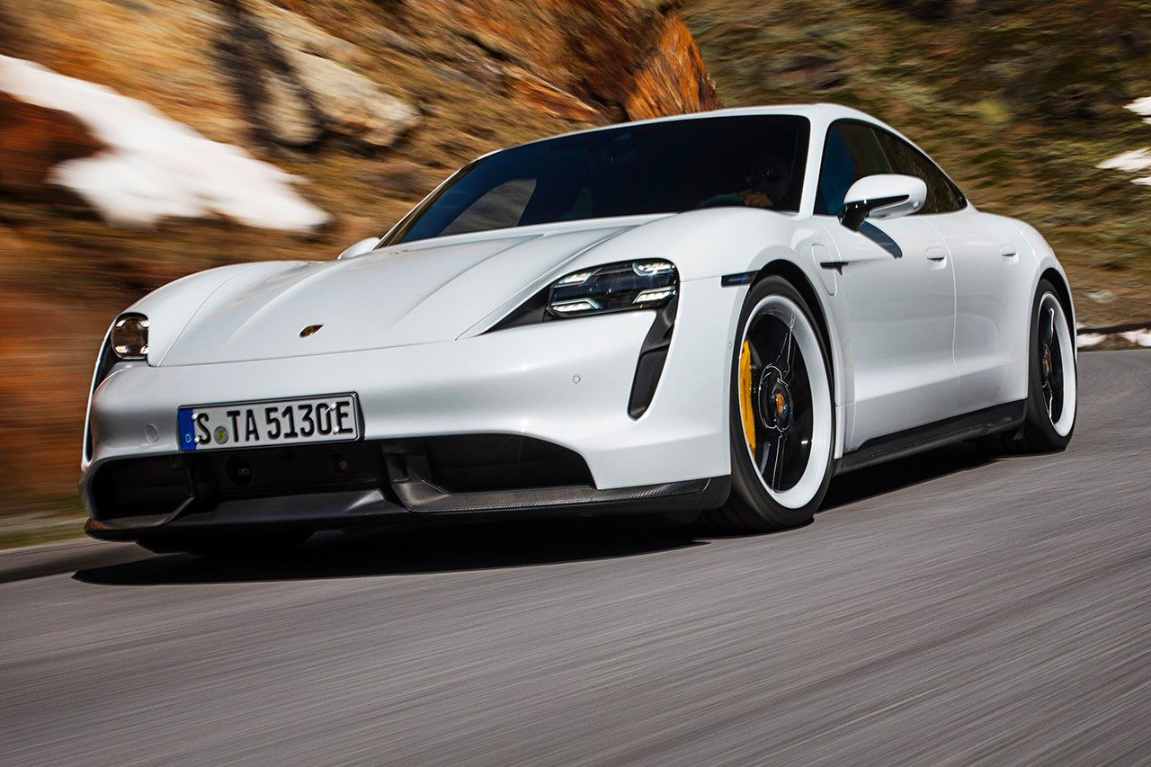 For 2021 Porsche Juiced Up The Taycan Turbo S Porsche Taycan Porsche Turbo S