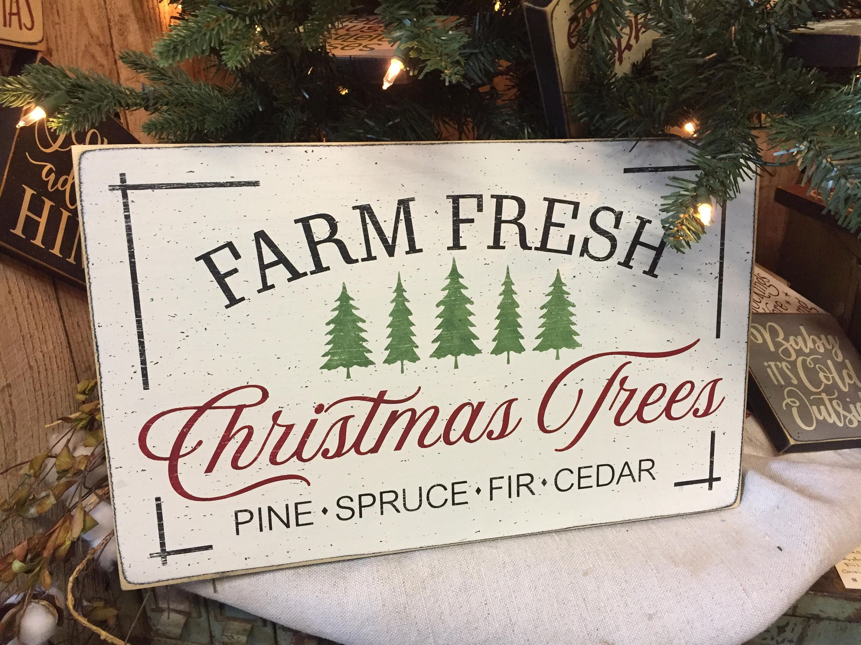 Christmas Trees Sign Christmas Farmhouse Sign Fixer Upper Christmas Decoration Christmas Christmas Wooden Signs Christmas Signs Christmas Crafts Decorations