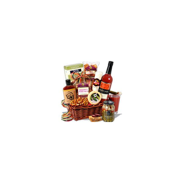 Bloody Mary Gift Basket ❤ liked on Polyvore