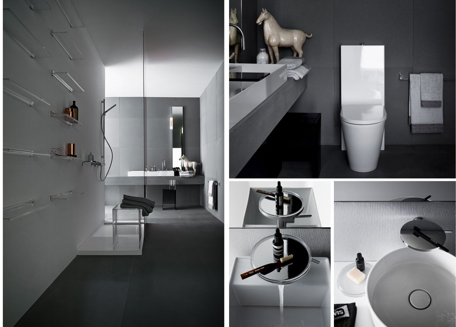 Bathroom Design Grey Grey Bathroom Design Courtesy Of Laufen Bathrooms Wwwlaufen