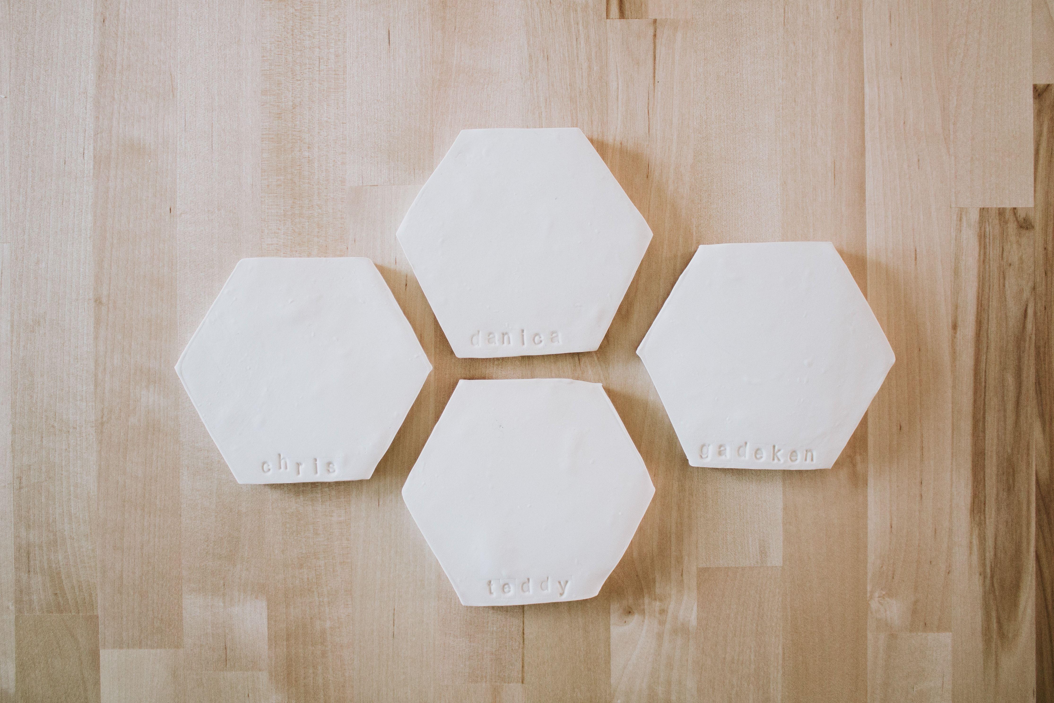 DIY CLAY COASTERS Diy clay, Diy ceramic, Clay gift tags