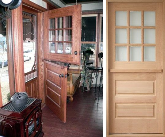 solid wood dutch doors handcrafted to your custom size and design for home  renovation - Dutch Door With Screen Living Room And Staircase Pinterest