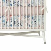 Found It At Dwellstudio Meadow Powder Blue Canvas Crib Skirt