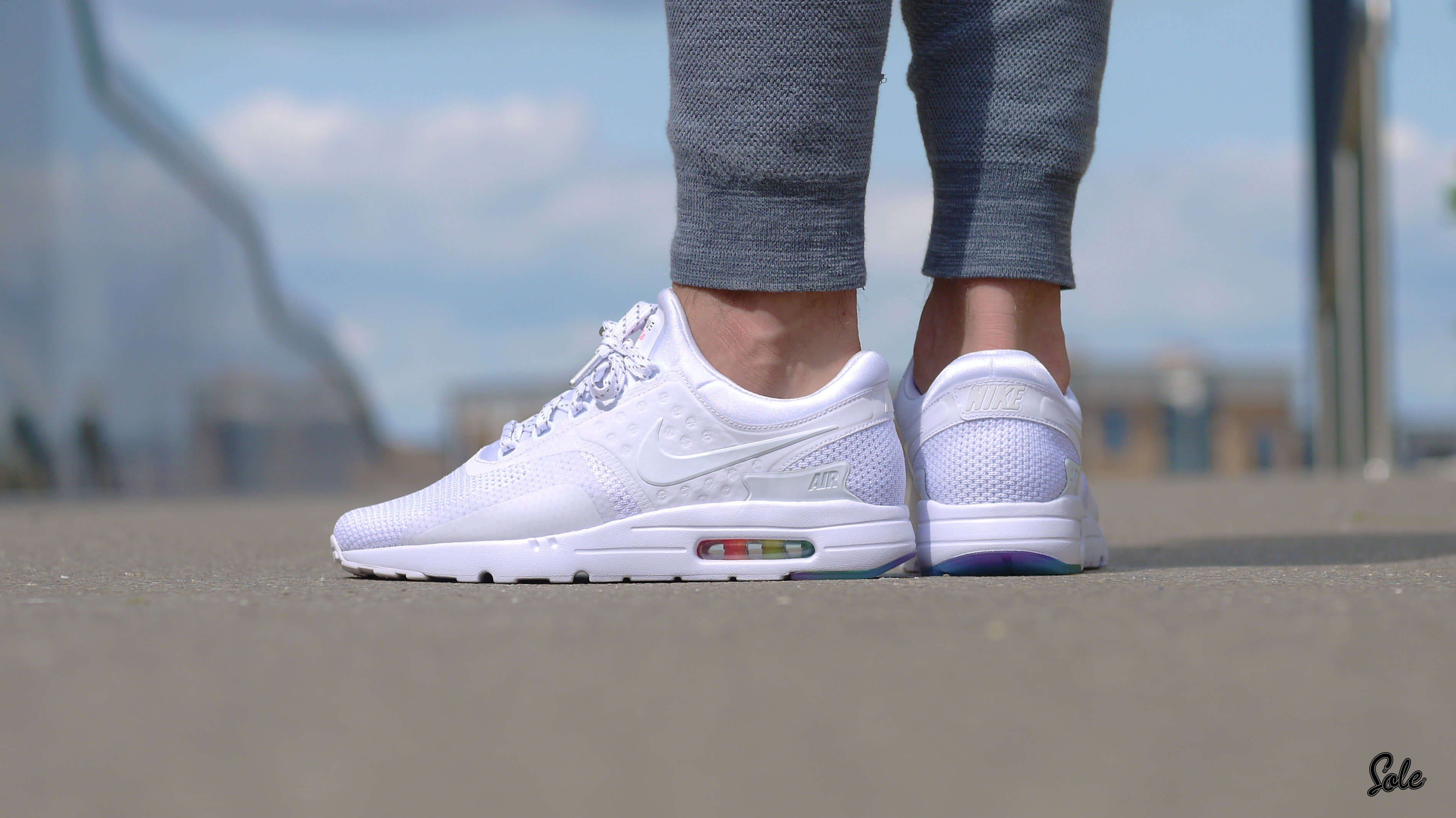 detailed look d1ffe 82c8a The super popular Nike Air Max Zero, learn how to spot fakes with this 27  point step-by-step guide from goVerify.it