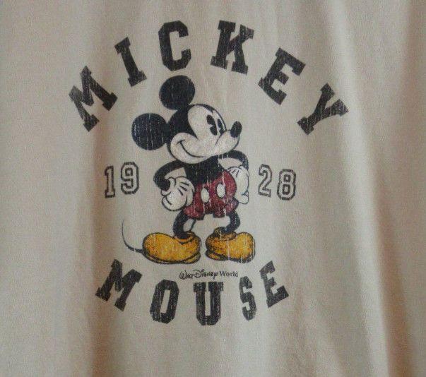 Mickey Mouse 1928 Disney sz XL Beige T-Shirt #WaltDisneyWorld #GraphicTee