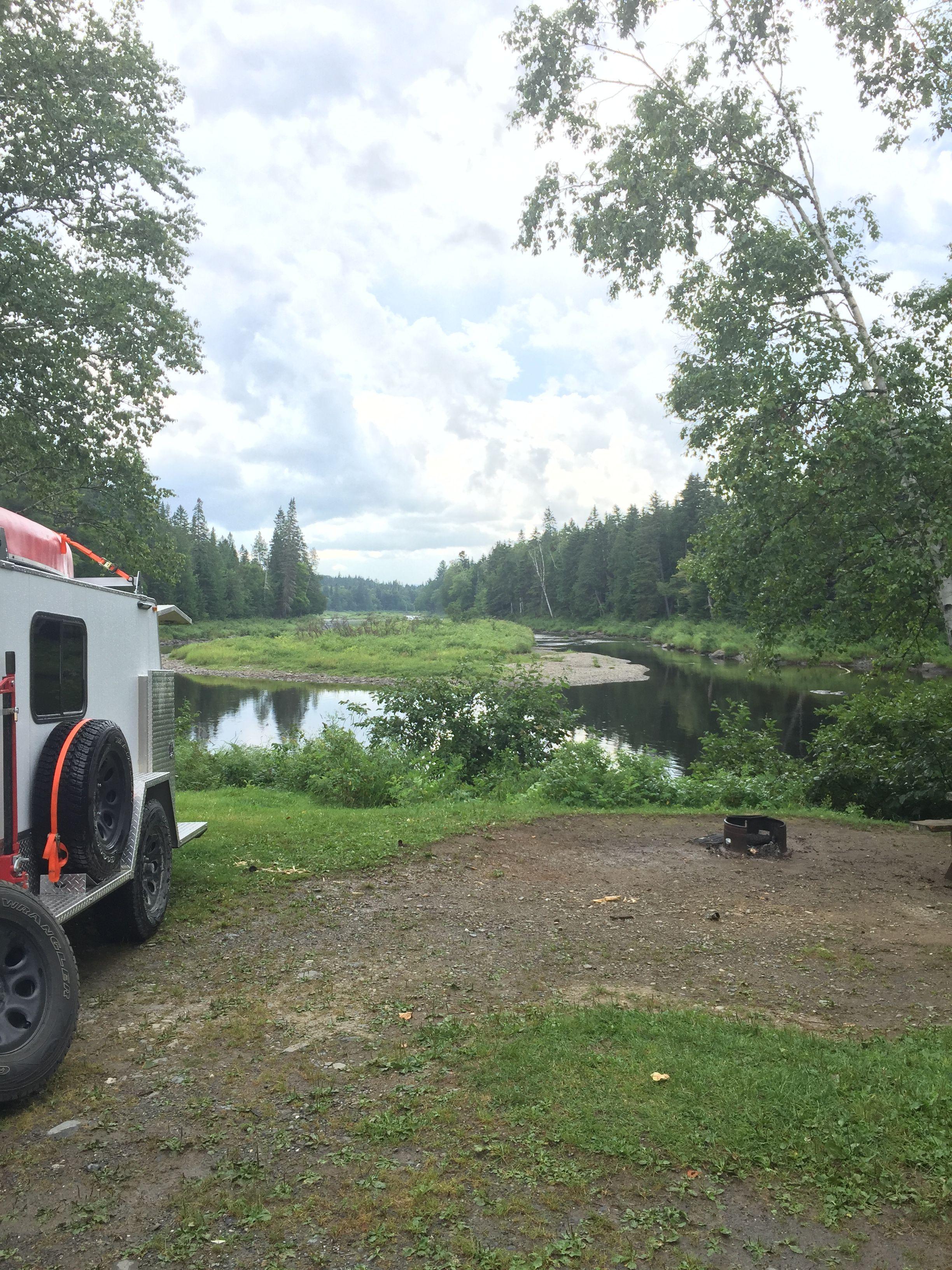 Moosehead lake lake camping