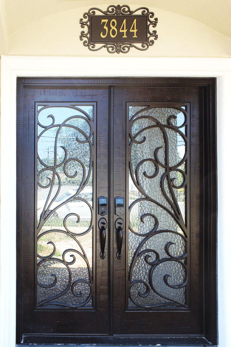 Montelucci Iron Door Collection Decorative Entry Doors Entry Doors Iron Front Door