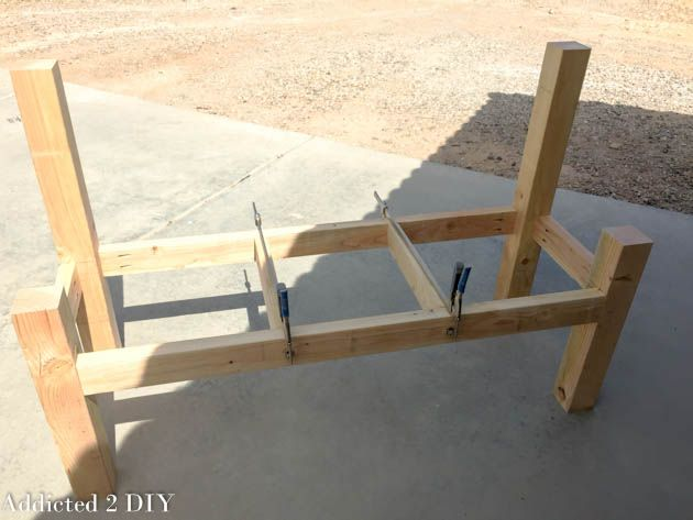 How To Build A Bench From An Old Tailgate Addicted 2 Diy Tailgate Bench Woodworking Bench Woodworking Workbench