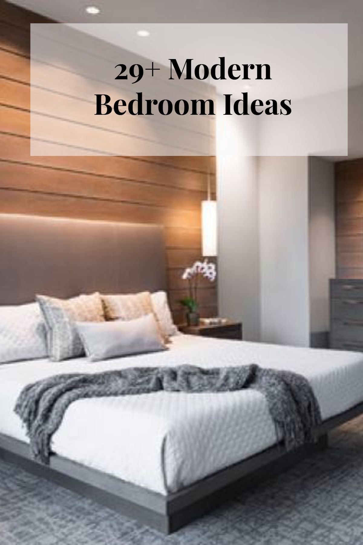 Modern Minimalist Master Bedroom 2021 in 2020 | Minimalist ...