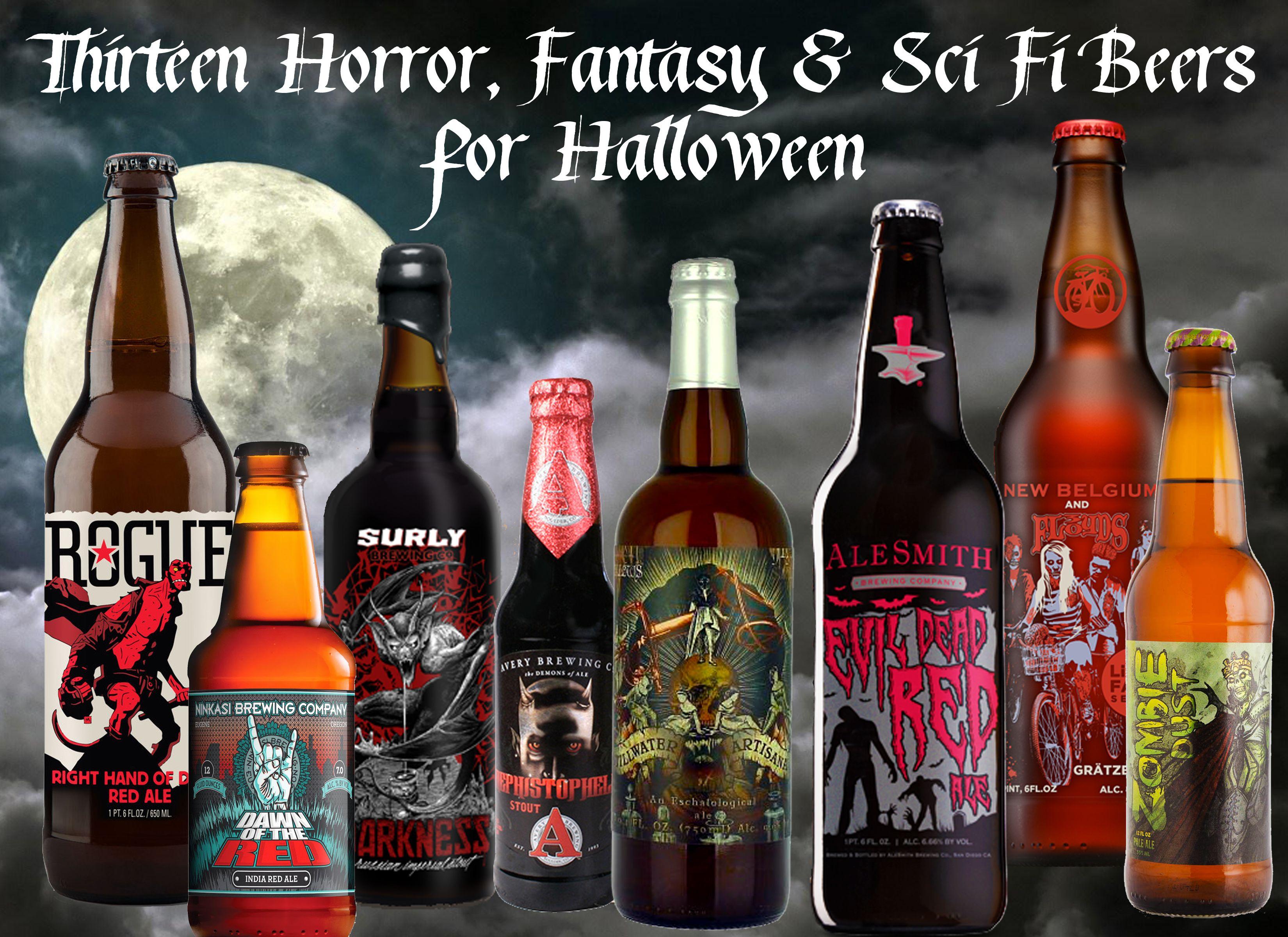 Thirteen Best Horror Fantasy And Sci Fi Beer Names Beer